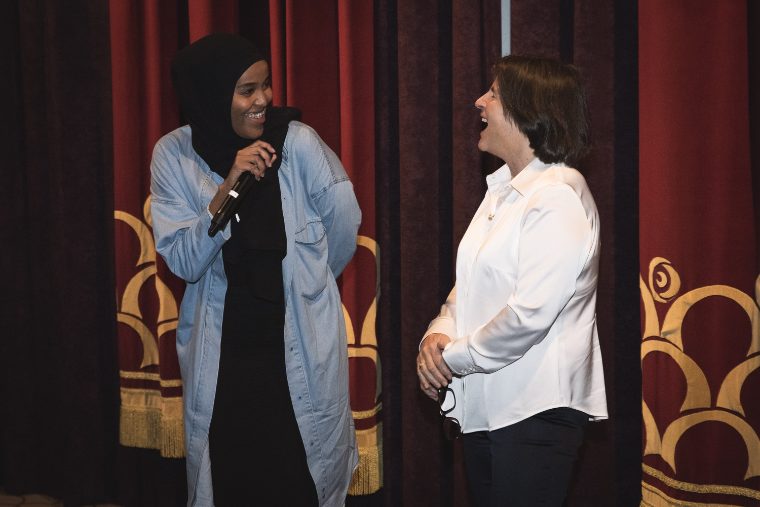Director Ayan Yusef and Sue Maslin