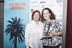 Sue Maslin and Sally Storey, producer of A Terrible Beauty